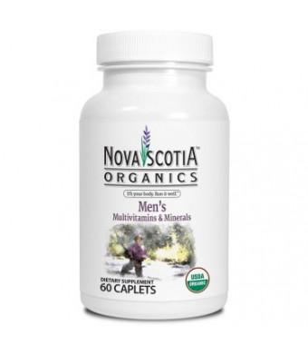 Nova Scotia Organics Men's Multivitamins and Minerals Caplets, 60 Ct