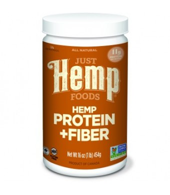Just Hemp Foods Hemp Protein & Fiber Powder, 11g Protein, 1.0 Lb
