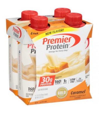 Premier Protein Shake, Caramel, 30g Protein, 4 Ct