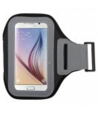 MUNDAZE Black Exercise Running Fitness Armband For Google Pixel / Pixel 2 Phone