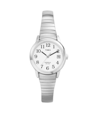 timex women's easy reader expansion band watch