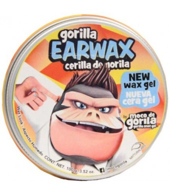 Gorilla Earwax Wet Look Hair Gel, 3.52 oz