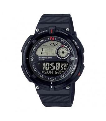 Casio Men's Twin Sensor Quartz Resin Casual Watch