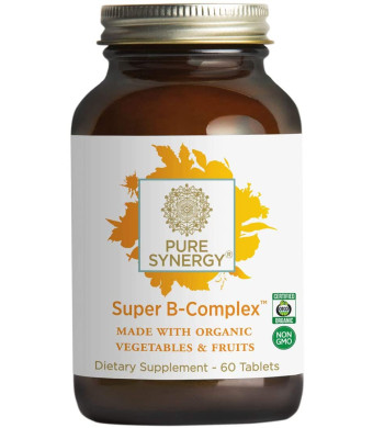 Pure Synergy Organic Super B-Complex - 60 Tabs