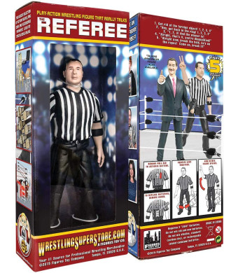 Xingcolo Three Counting and Talking Wrestling Referee Action Figure