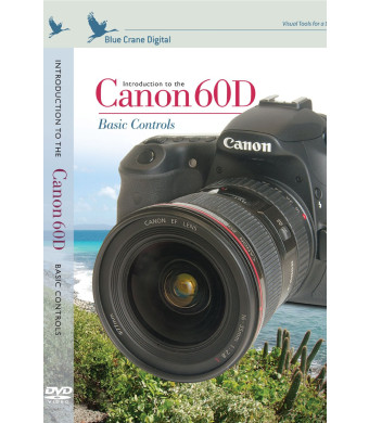 Blue Crane Digital Introduction to the Canon 60D Basic Controls Training DVD (zBC136)
