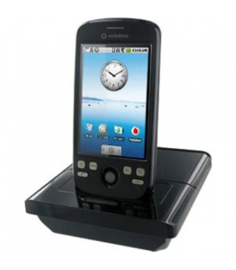 Amzer Deluxe Desktop Cradle for T-Mobile myTouch 3G/HTC Magic - Black