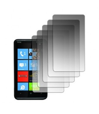 5 Pack of Screen Protectors for HTC HD7