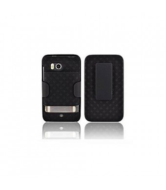 Verizon Wireless OEM Extended Shell Holster Combo HTC Thunderbolt Fits Extended Battery (fits 2750 /3200 mAh batteries)
