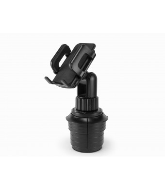Cellet Adjustable Automobile Cup Holder Mount for iPhones, iPods, Smartphones, MP3 Players, GPS Systems