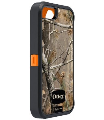 OtterBox Defender Series Case for iPhone 5 -(Discontinued by Manufacturer) - Realtree Camo - AP Blazed