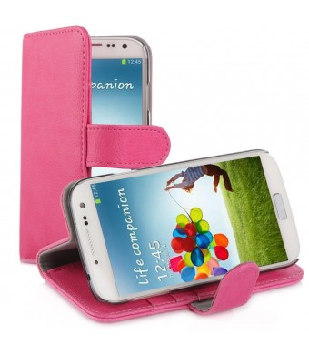 KaysCase Book 2.0 Cover Case for Samsung Galaxy S4 SIV S IV Smart Phone (PINK)