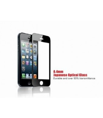 GGS 0.5mm Self-Adhesive Optical Glass LCD Screen Protector for APPLE IPHONE 4/4S Black