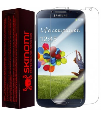 Skinomi TechSkin - Samsung Galaxy S4 Screen Protector Premium HD Clear Film with Lifetime Replacement Warranty / Ultra High Definition Invisible and