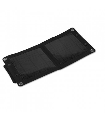 EasyAcc 7W Portable Solar Charger Panel for Cell Phone iPhone Android Smartphone Samsung Galaxy HTC Bluetooth Speakers