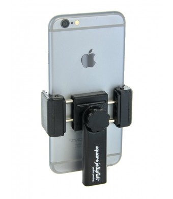 """Square Jellyfish Spring Tripod Mount for Smart Phones 2-1/4 - 3-5/8""""  Wide"""