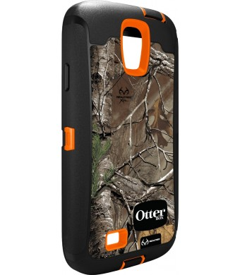 OtterBox Defender Series Case for Samsung Galaxy S4 - Frustration-Free Packaging - Realtree Xtra (Blaze/Black/Realtree Xtra)
