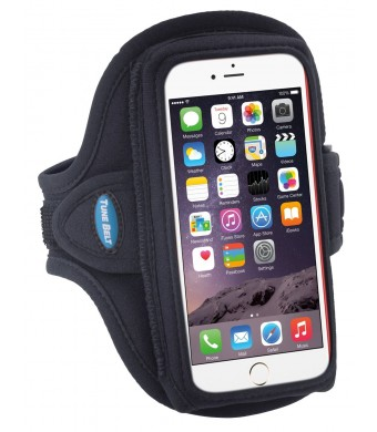 Samsung Galaxy S6 Armband (Also fits Galaxy S6 Edge, Galaxy S5, iPhone 6 with Slim to Medium Cases, HTC One M8 / M9 and much more)
