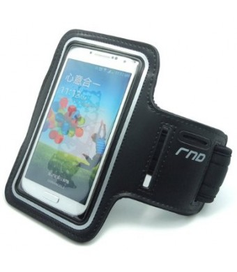 RND Slim-Fit Active Sports Armband Case for iPhone 6 and Samsung Galaxy S4 and S5 (black)