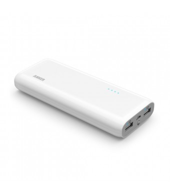 Anker 2nd Gen Astro E5 16000mAh Portable Charger External Battery Power Bank with PowerIQ Technology 2-Port 3A for iPhone 6 Plus 5S 5C 5 4S, iPad Air