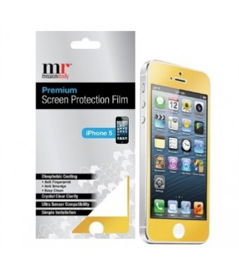 Premium Screen Protective Film for iPhone 5/5S (Gold)