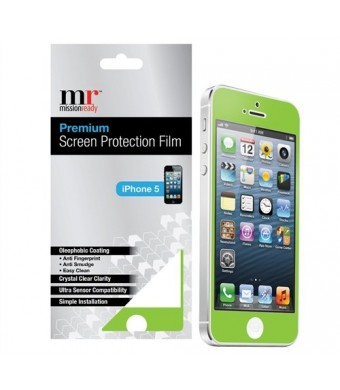Premium Screen Protective Film for iPhone 5/5S (Green)