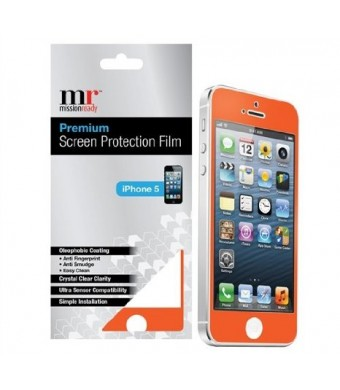 Premium Screen Protective Film for iPhone 5/5S (Orange)