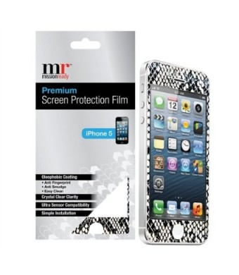 Premium Screen Protective Film for iPhone 5/5S (Snake)