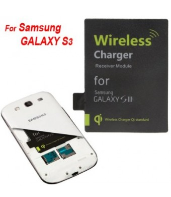 DigiYes Wireless Charger Charging Receiver Module for Samsung Galaxy S3