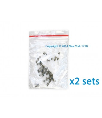 TWO Sets of iPhone 5 Screws (Black) - NY1718