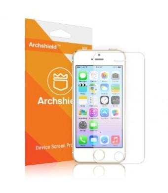 Archshield - iPhone 5S / iPhone 5C / iPhone 5 Premium High Definition (HD) Clear Screen Protector 3-Pack - Retail Packaging (Lifetime Warranty)