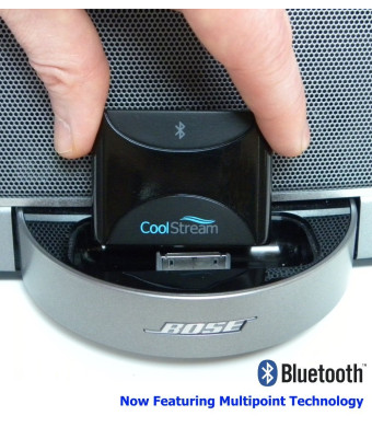 CoolStream Duo. Bluetooth Adapter / Bluetooth Receiver; accessories for iPhone, Samsung, Nokia, HTC, LG, Motorola; for Music Docking Stations, Motorc
