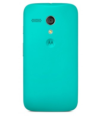 Motorola Shell for Moto G - Retail Packaging - Turquoise