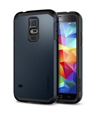 Galaxy S5 Case, Spigen Tough Armor Case for Galaxy S5 - Metal Slate (SGP10763)
