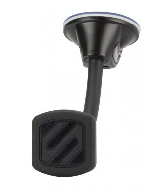 SCOSCHE MagicMount- Magnetic Window Mount for Mobile devices - Car Mounts - Frustration-Free Packaging - Black