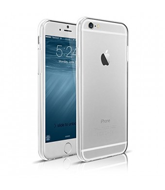 iPhone 6 Case, Maxboost [Liquid Skin] iPhone 6 (4.7-inch) Case [0.4mm Ultra Clear] Soft Flexible Extremely Thin Gel TPU Transparent Skin Scratch-Proo