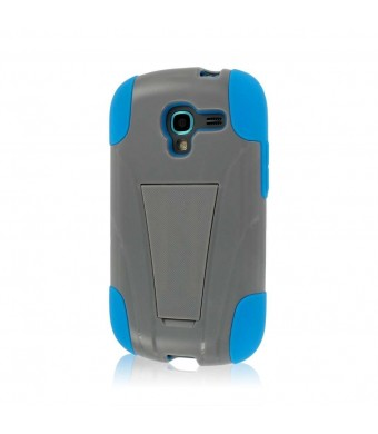 MPERO IMPACT X Series Kickstand Case for Samsung Galaxy Exhibit T599 - Blue / Gray