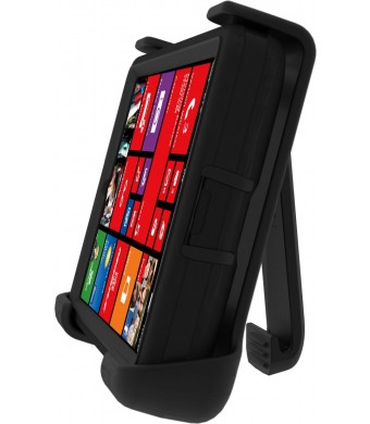 Otterbox Nokia Lumia Icon Defender Series Case - Retail Packaging - Black