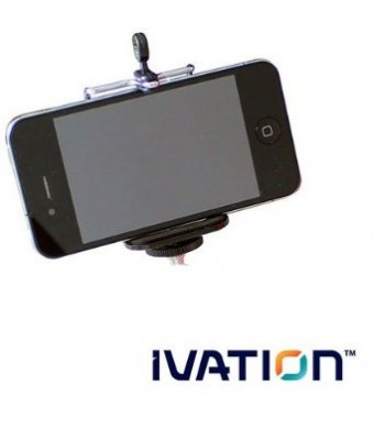 IVATION Universal Tripod Stand Mount Holder for the Samsung Galaxy, S3 i9300, S4 i9500, S5 G-900H, S6, HTC One, and for Most Smartphones