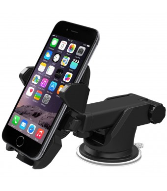 iOttie Easy One Touch 2 Car Mount Holder for iPhone 6 (4.7)/ Plus (5.5)/ 5s/ 5c/, Samsung Galaxy S6/S6 Edge/ S5/S4/ S3/ Note 4/3, Google Nexus 5/4, L