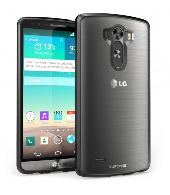 LG G3 Case, SUPCASE Unicorn Beetle Series Premium Hybrid Protective Bumper Case for LG G3, Frost Clear/Black