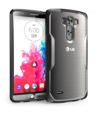LG G3 Case, SUPCASE Premium Hybrid Protective Bumper Case Cover for LG G3, Frost Clear/Black