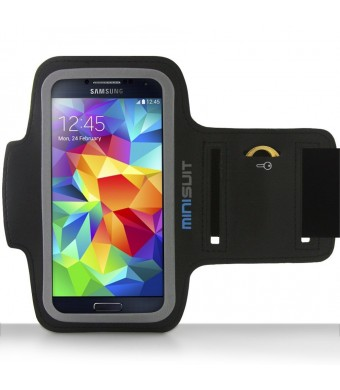 Minisuit Sporty Armband + Secret Pocket for Samsung Galaxy S6 Edge S5 S4 S3