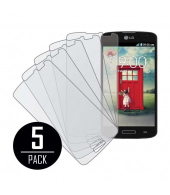LG Volt Screen Protector Cover, MPERO Collection 5 Pack of Matte Anti-Glare Screen Protectors for LG Volt F90 LS740