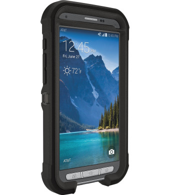 Otterbox Samsung Galaxy S 5 Active Defender Series with Belt Clip Holster - Retail Packaging - Black