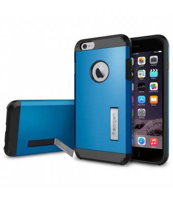 iPhone 6 Plus Case, Spigen [HEAVY DUTY] Tough Armor Case for iPhone 6 Plus (5.5-Inch) - Electric Blue (SGP11054)