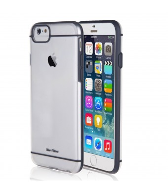 For iPhone 6 Case - Bear Motion for iPhone 6 4.7 - Premium PC-TPU Back Cover Case for iPhone 6 with 4.7 inch Screen (Gray)