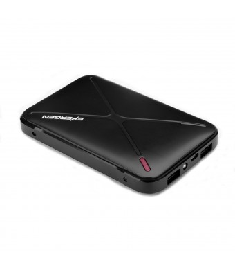 Energen Extreme 8800mah Power Bank (Black) Is Compatible with Most Apple iPhone 6 6 Plus, iPhone 5 5s, Android, Windows Smartphones, Tablets, and Por