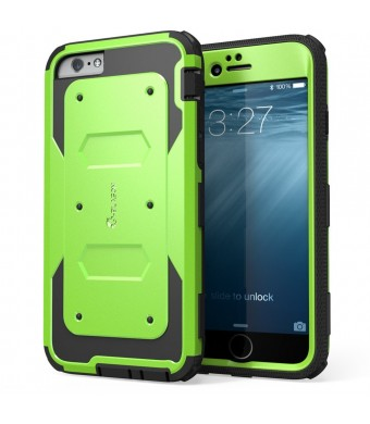 iPhone 6 Case, i-Blason Apple iPhone 6 Case 4.7 inch Armorbox Dual Layer Hybrid Full-body Protective Case with Front Cover and Built-in Screen Protec