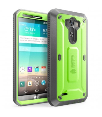 LG G3 Case, SUPCASE [Heavy Duty] LG G3 Case [Unicorn Beetle PRO Series] Full-body Rugged Hybrid Protective Case with Built-in Screen Protector (Green